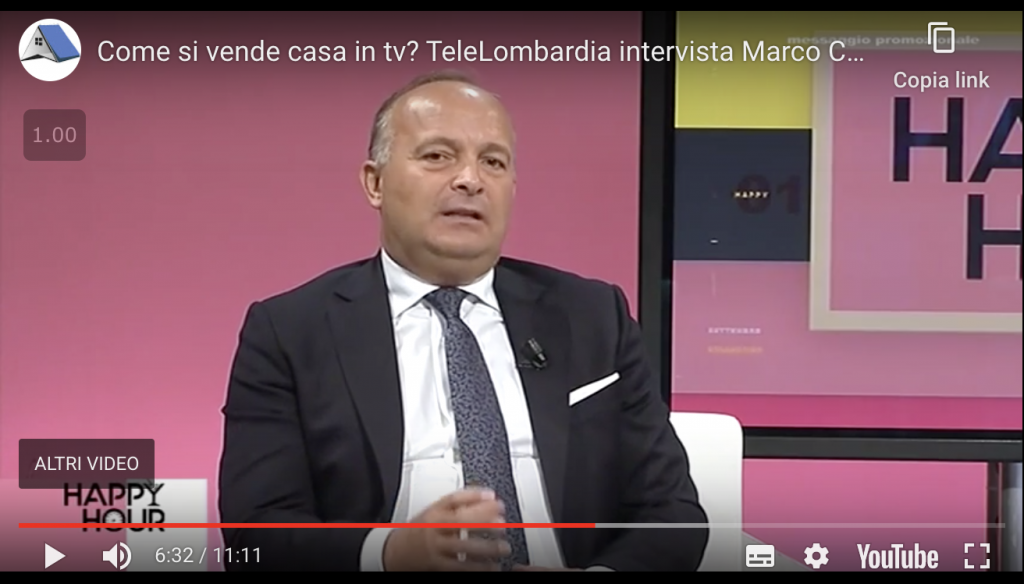 Marco Cassanelli di Comesivendecasa.com intervistato a Tele Lombardia